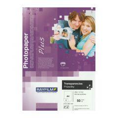 Rayfilm Transparent til blekkskriver