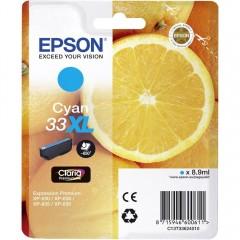 Blekkpatron EPSON 33XL Cyan