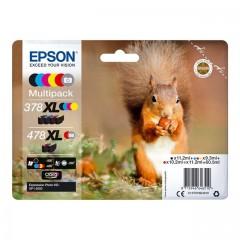 Blekkpatron EPSON 378XL/478XL Multipack