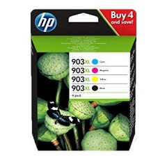Blekkpatroner HP 903XL 4-pack