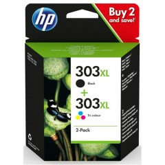Blekkpatron HP 303XL 2-Pack