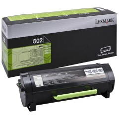 Lexmark 502 Svart