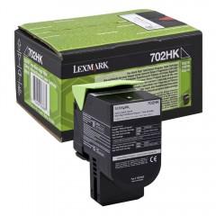 Lexmark 702HK Svart