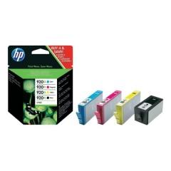 Blekkpatroner HP 920XL 4-Pack BKCMY