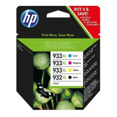 Blekkpatroner HP 932XL/933XL 4-PACK