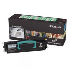 Lexmark E250A11E Svart