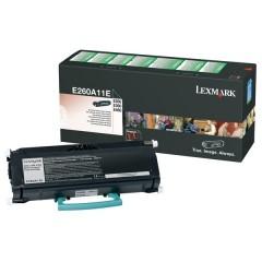 Lexmark E260A11E Svart