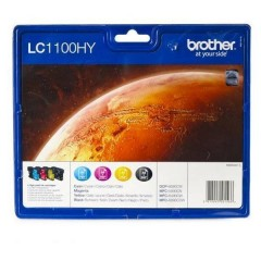 Blekkpatroner BROTHER LC1100HY VALUEPACK