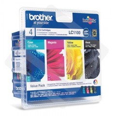 Blekkpatroner BROTHER LC1100 VALUEPACK