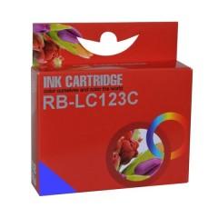 Blekkpatron RB-LC123 CYAN