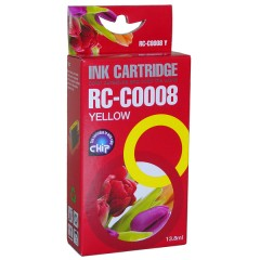 Blekkpatron RC-C0008 GUL