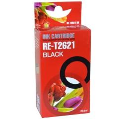 Blekkpatron RE-T2621 SVART