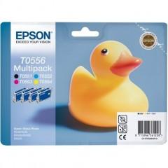 Blekkpatroner EPSON T0556 MULTIPACK