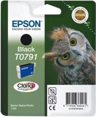 Blekkpatron EPSON T0791 SVART