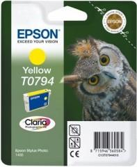 Blekkpatron EPSON T0794 GUL