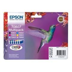 Blekkpatroner EPSON T0807