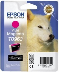 Blekkpatron EPSON T0963 VIVID MAGENTA