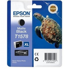 Blekkpatron EPSON T1578 Matte Black