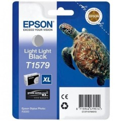 Blekkpatron EPSON T1579 Light Light Black