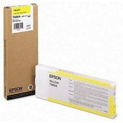 Blekkpatron EPSON T6064 Yellow 220ml