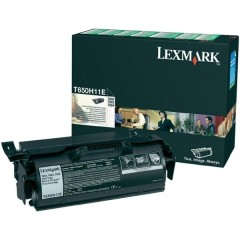 Lexmark T650H11E Svart