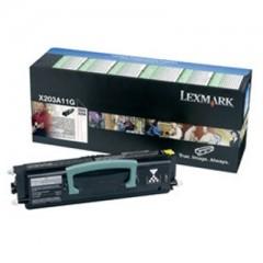 Lexmark X203A11G Svart