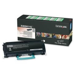 Lexmark X463H11G Svart