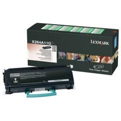Lexmark X264A11G Svart
