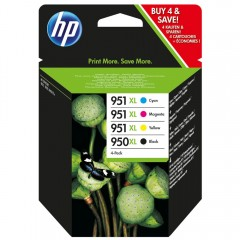 Blekkpatroner HP 950XL/951XL 4-Pack