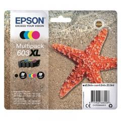 Blekkpatroner EPSON 603XL MULTIPACK