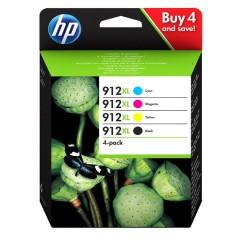 Blekkpatroner HP 912XL 4-pack