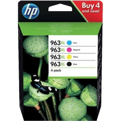 Blekkpatroner HP 963XL 4-pack