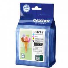Blekkpatroner BROTHER LC3213 4-PACK