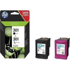 Blekkpatroner HP 301 2-PACK