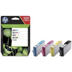 Blekkpatroner HP 364 4-PACK