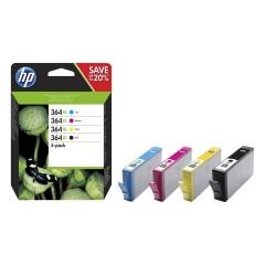Blekkpatroner HP 364XL 4-PACK