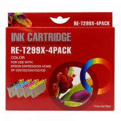 Blekkpatroner RE-T299x 4-Pack