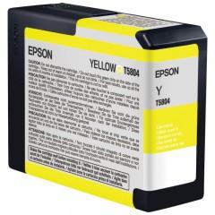 Blekkpatron EPSON T5804 GUL