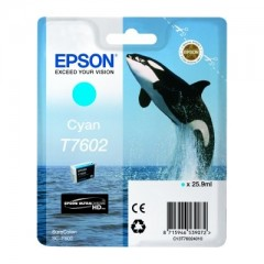 Blekkpatron EPSON T7602 Cyan