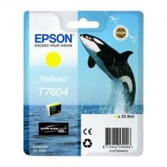Blekkpatron EPSON T7604 Gul